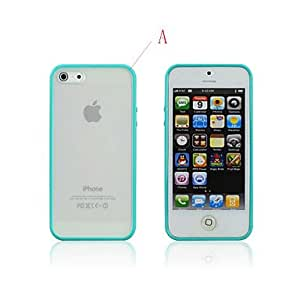 The Frame Side TPU Plastic Soft Case for iPhone 5/5S (Assorted Colors) , E