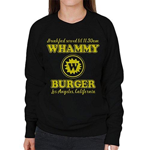 City City City Cloud Women's Women's Women's Sweatshirt Anchorman 7 Whammy Black Burger OvxCq8vw