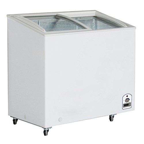DUURA-DVCD71-Curved-Glass-Display-Freezer-White
