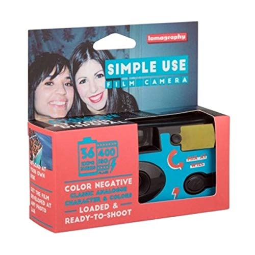 Lomography Simple Use Camera, Color Negative (SUC100CN)