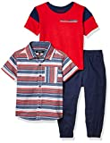 DKNY Boys' Toddler 3 Piece Set, A Castle