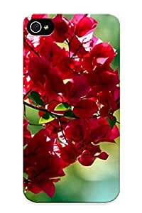 High Quality PFiXNKo79pURmD Red Leaves PC Case For Iphone 4/4s WANGJIANG LIMING