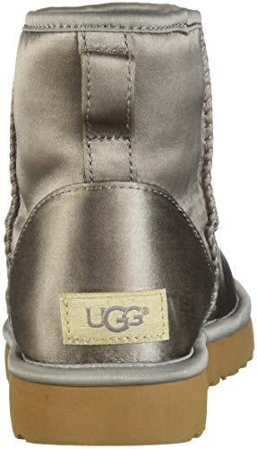 Ugg Grigio Mini Boots Raso Donna Satin Classic r4TrnA