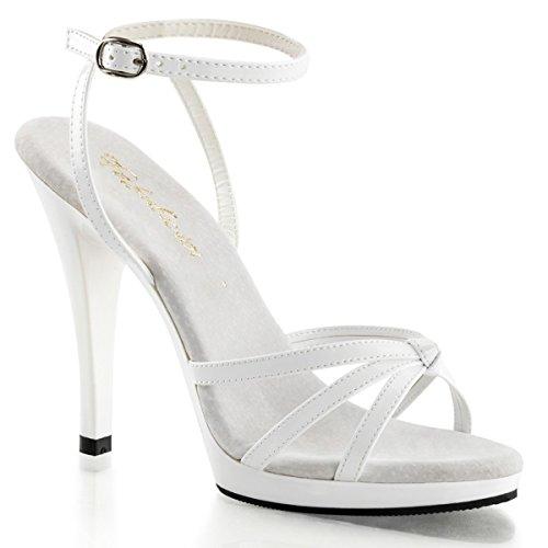 Fabulicious - Sandalias de vestir para mujer Weiss