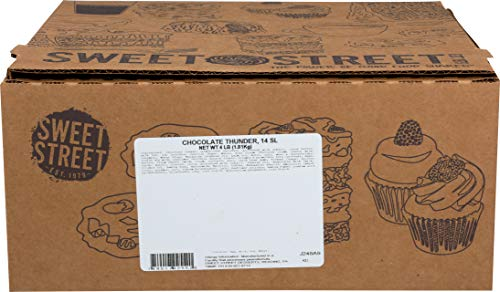 Sweet Street Iced Chocolate Thunder 3 Layer Cake 4 lb (14 Slice) Pack of 2 by Sweet Street Frozen (Image #1)