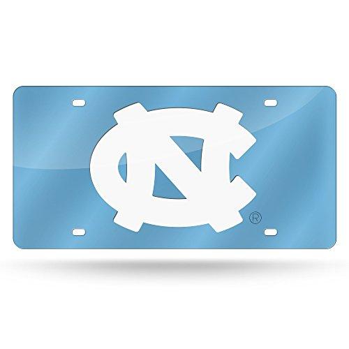 NCAA North Carolina Tar Heels Laser Cut Auto Tag, 12