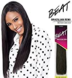 Outre Beat Human Hair Weave - Beat Brazilian Remi (10S, Color 1B)