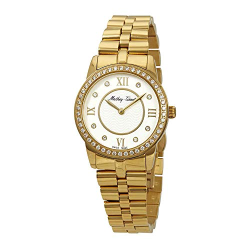Mathey-Tissot Artemis Crystal Silver Dial Ladies Watch D1086PQYI