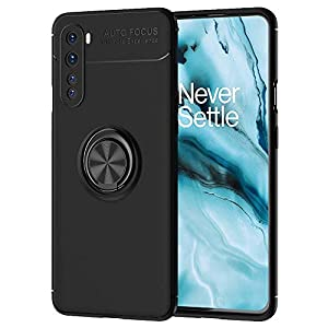 Newlike Back Cover for One Plus Nord (Armour|Polycarbonate, TPU|Black)