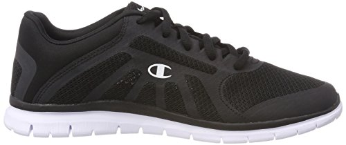 para Running Zapatillas Kk001 Champion Negro Alpha Cut Low Mujer White de Black Shoe x0qF6w0