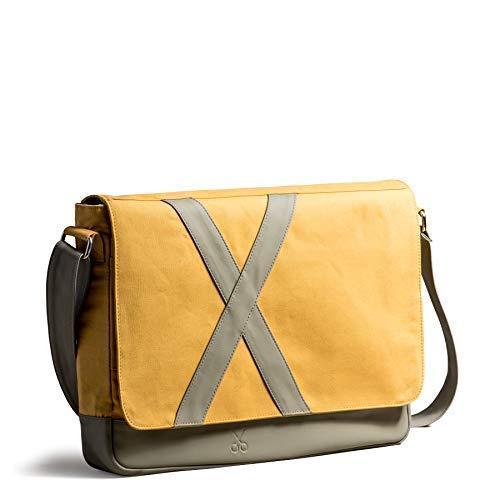 Everyday Bag Gift for her Canvas messenger bag Laptop bag Womens shoulder bag Mens messenger