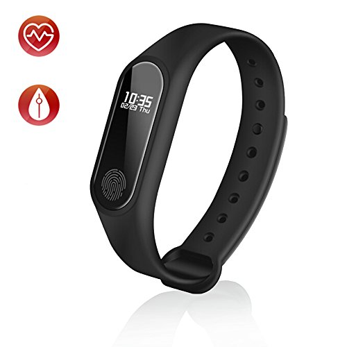 Parts Trigger Smart (TOP-MAX Fitness Tracker, Bluetooth 4.0 M2 Heart Rate Monitor Activity Tracker Smart Wristband Bracelet Watch for IOS Android Smart Phone)