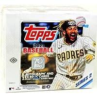 $202 » 2021 Topps Series 2 MLB Baseball JUMBO box (10 pks/bx)