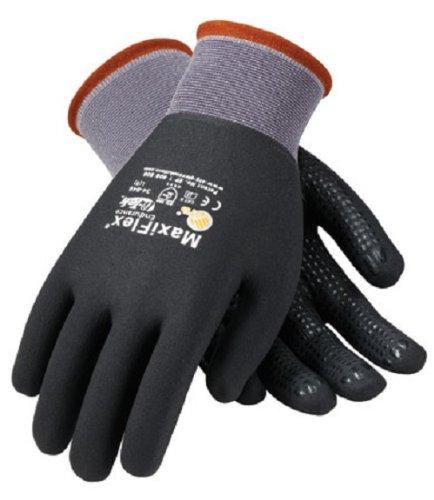 34-846 GTEK Maxiflex Ultimate Gloves w/ Dots- XL (DOZEN)