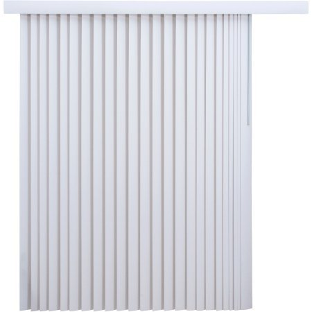 Mainstays Light-Filtering Vertical Blinds, White