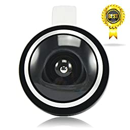 First2savvv JTSJ-235-A01 black Universal Detachable 0.4X Super fish eye - Maximum angle: 235 - professional Mobile phone Lens for Acer Iconia One 7 Acer Iconia A3 Acer Iconia A1 Acer Iconia B Acer Iconia W3 Acer Iconia W4 Acer Iconia B1-720 with stylus pe
