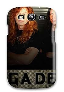 Heidiy Wattsiez's Shop Slim Fit Tpu Protector Shock Absorbent Bumper Megadeth Case For Galaxy S3
