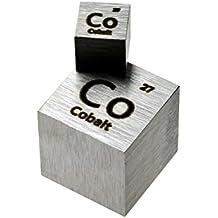 Cobalt Metal 10mm Density Cube 99.95% Pure