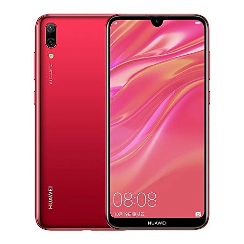 HUAWEI P Smart 2019 Pot-LX3 32GB Unlocked GSM 4G LTE Dual Camera (13MP+2MP) Phone - Coral Red