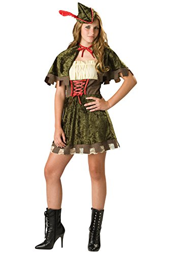 In Character Robin Hood Girl Outlaw Halloween Costume Juniors 9-11 ()