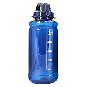 Large Water Bottle With Handle And Straw Best Bottled Water