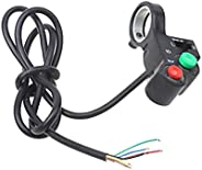 """GOOFIT Universal 7/8"""" Handlebar Turn Signal Light & Horn Switch Button for Spotlight Scooter Electrom"""