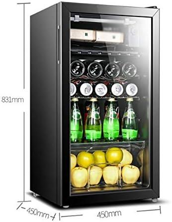 YFGQBCP Pequeño Bar de Hielo de Baja vibración de Baja Bar de Hielo de Ruido Inicio termostato Vino Built-in Independiente del refrigerador de Vino Chiller Touch Control refrigerado por Aire