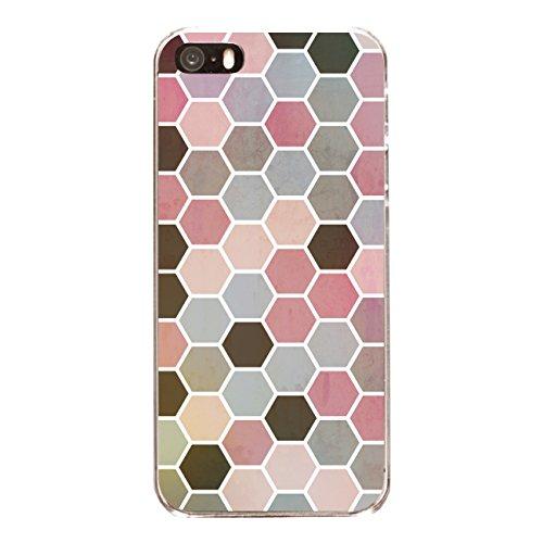 """Disagu SF-sdi-3796_1204#zub_cc4079 Design Schutzhülle für Apple iPhone 5 - Motiv """"Polygone 01"""""""