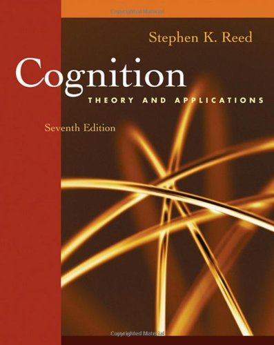 Cognition: Theory and Applications (with Study Guide Printed Access Card)
