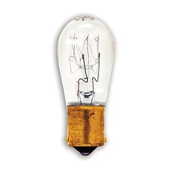 GE 10690-12 S8 High Intensity Light Bulb, 12-Watt, 12-Pack