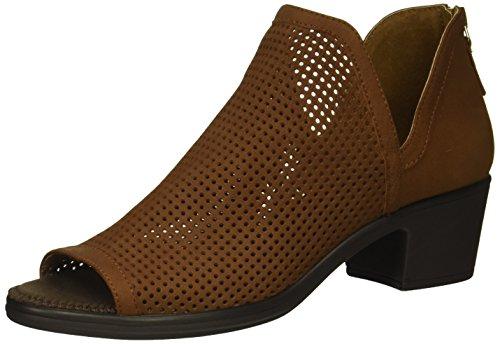STEVEN by Steve Madden Women's NC-Prime Ankle Boot, Chestnut Nubuck, 6 M US