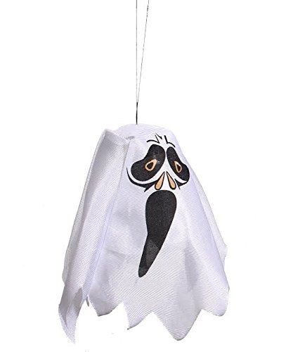 [Ghost | LED Flashing Halloween Party Decoration Hanging Ghost | Watch The Kids Squeal in Delight Around This Ghost | Hanging Ghost | Dazzling Toys] (Cheap Halloween Animatronics)