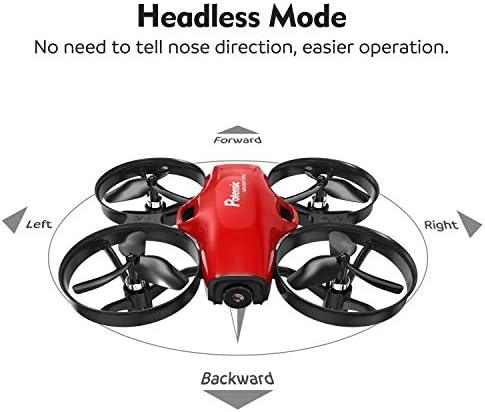 Potensic Drone avec caméra A30W Avion avec télécommande Drone avec WiFi caméra Fonction de Suspension Altitude caméra, adapté aux débutants
