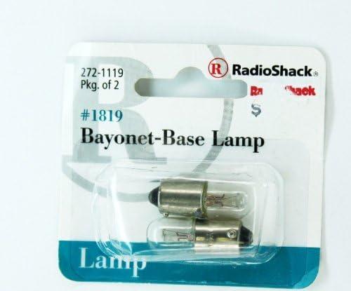 #1819 Bayonet-Base Lamp #272-1119 By RadioShack