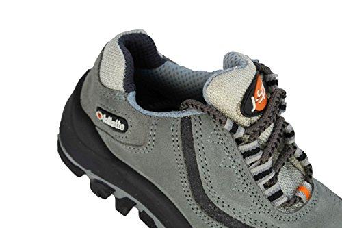 jallatte jalsirius SAS S1P Src–Calzado de Seguridad Senderismo Zapatos Plano Gris gris