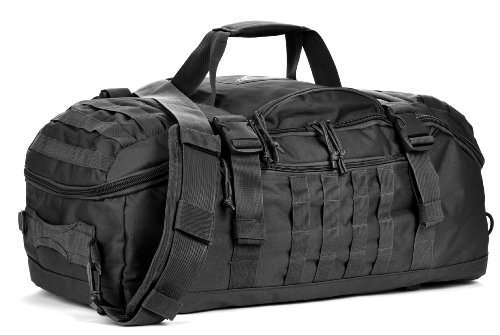 Red Rock Outdoor Gear Traveler Duffle Bag (Black)
