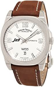 Armand Nicolet Men's 9650A-AG-P865MR2 J09 Casual Automatic Stainless-Steel Watch