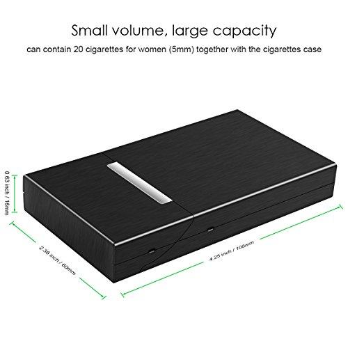 Padgene Women Cigarette Box, Holds 20 Cigarettes(100s) Case