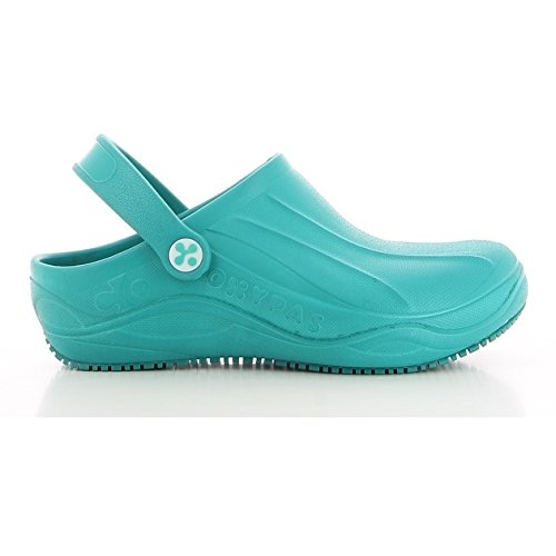 Oxypas Smooth, Women's Safety Shoes, White (Fux), 5.5 UK (39 EU)  Bianco (White (Fux))