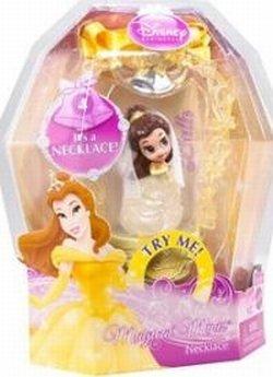 Magical Minis Disney Princess - Mattel Disney Princess Magical Minis BELLE WEDDING Necklace #4