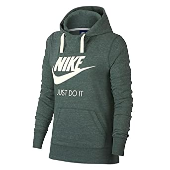 Nike W NSW Gym VNTG Hoodie Hbr, Felpa Donna