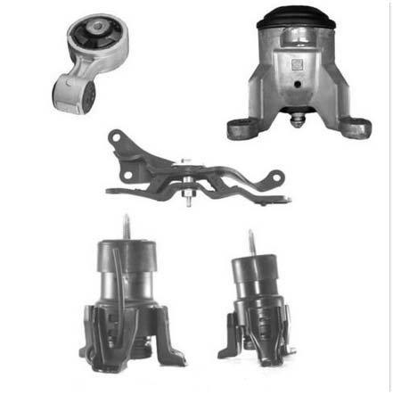 7363 7361 07-14 Nissan Altima Maxima 3.5L Front & Trans set 5pcs Engine Motor Mount 07 08 09 10 11 12 13 14 ()