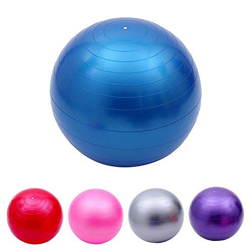 45cm d'exercice fitness aérobic Boule pour gym Yoga Pilates Grossesse accouchement Swiss