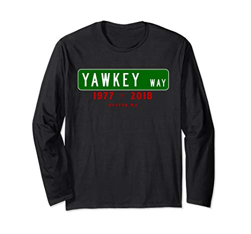 Yawkey Way Boston Memorial Long Sleeve T-Shirt