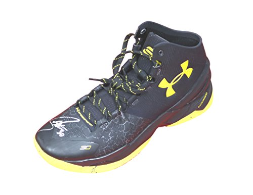 Stephen Curry Golden State Warriors Signed Autographed Under Armour Basketball Shoe PAAS COA ()