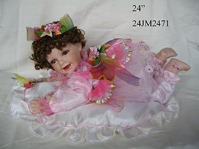 J.misa 24 Inch Crawling Fairy Porcelain Doll