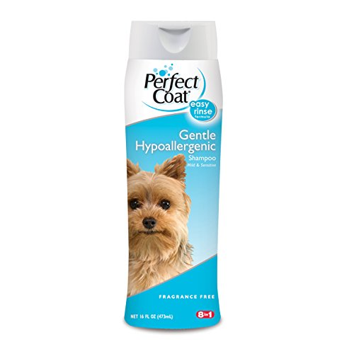 Perfect Coat Gentle Hypoallergenic Dog Shampoo, 16-Ounce (I610EA)