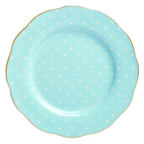 Blue Salad Plate Country (Royal Albert Formal Vintage Salad Plate, Polka Blue)