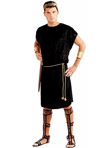 Forum Men's Black Tunic Costume,Black,Plus]()
