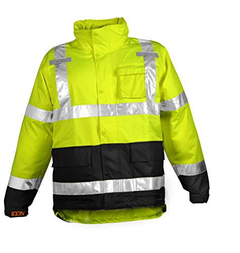 Tingley J24122.LG Icon High-Visibility Jacket, Large, Yellow